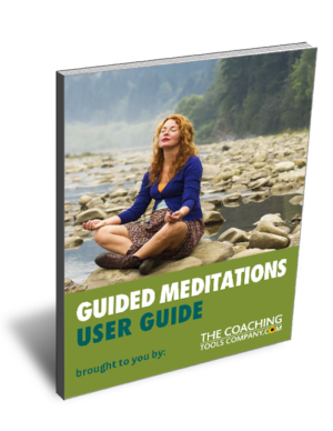 Guided Meditation Script to Find Calm USER GUIDE Image