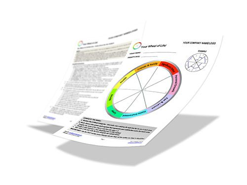 Coaching Wheel - Image of Paper-based Tool